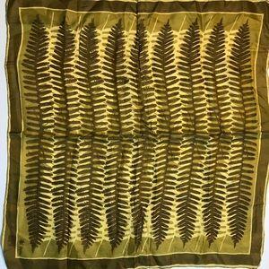 Three vintage Vera square scarves organic  colors